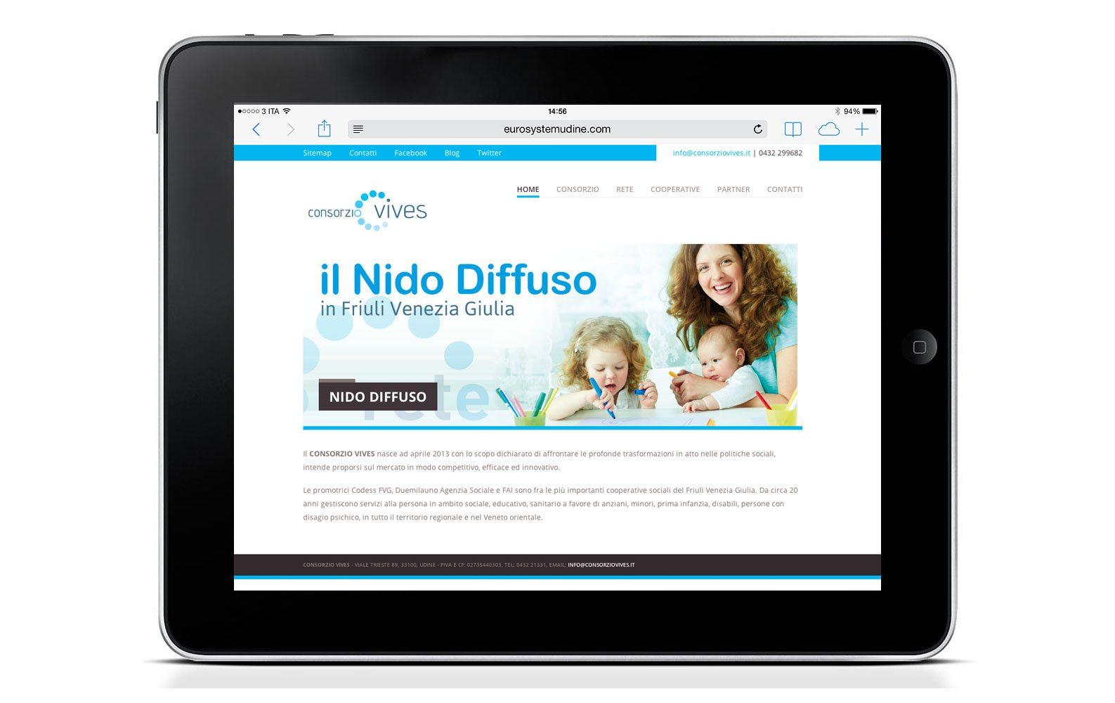 Il nuovo sito internet del Consorzio Vives